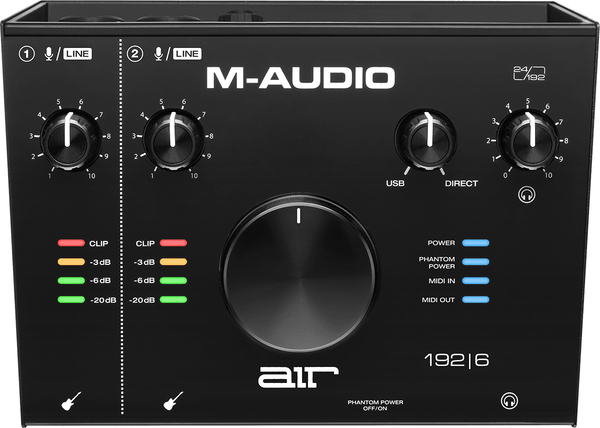 M-AUDIO AIR 192X6 INTERFACE AUDIO/MIDI
