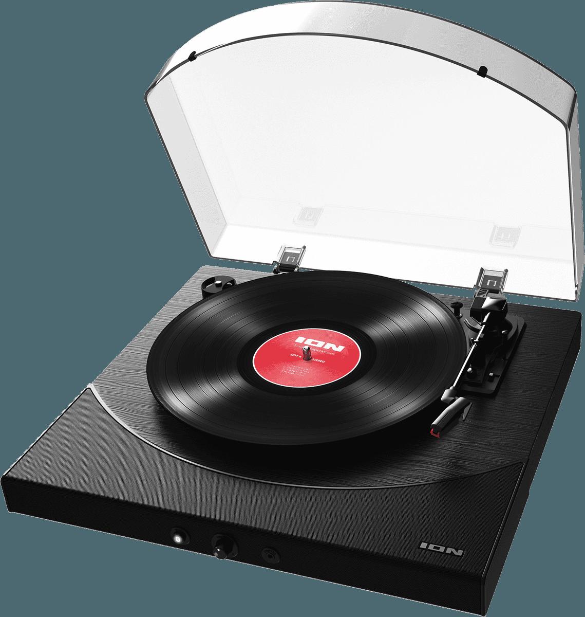 ION PLATINE VINYLE PREMIER LP  BLACK BLUETOOTH