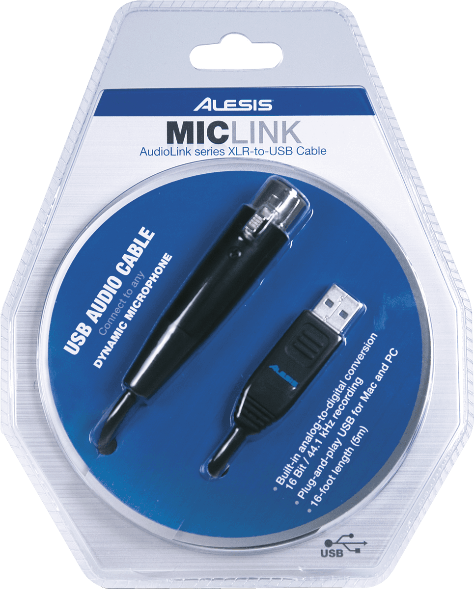 ALESIS MICLINK USB XLR STOCK2