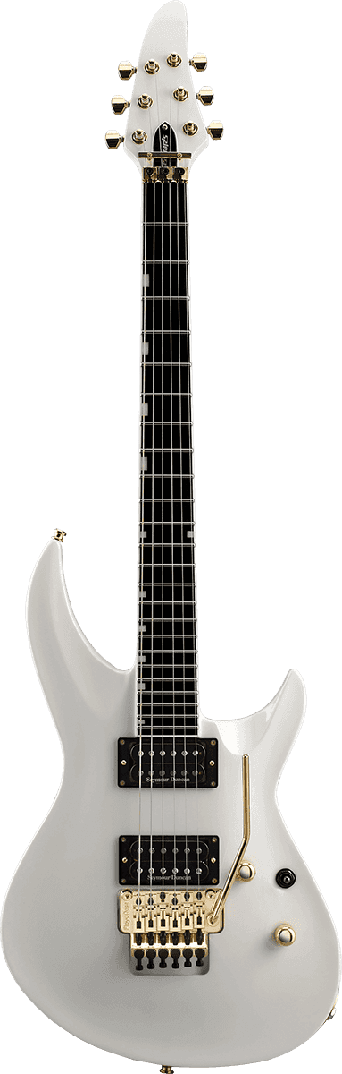 EDWARDS GUITARE HR145III PW BLANC PERLE