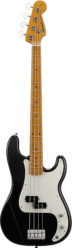 EDWARDS GUITARE PB95MLT NOIR BRILLANT PRECISION BASS