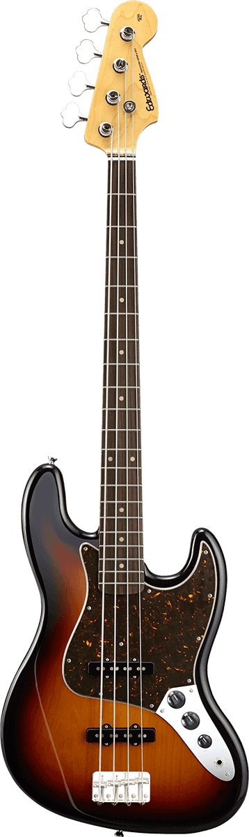 EDWARDS GUITARE JB130R 3TS JAZZ BASS