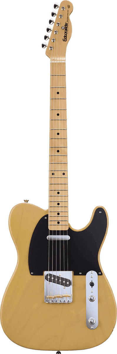 EDWARDS GUITARE TE98ASM BSC TELECASTER BUTTER SCOTCH