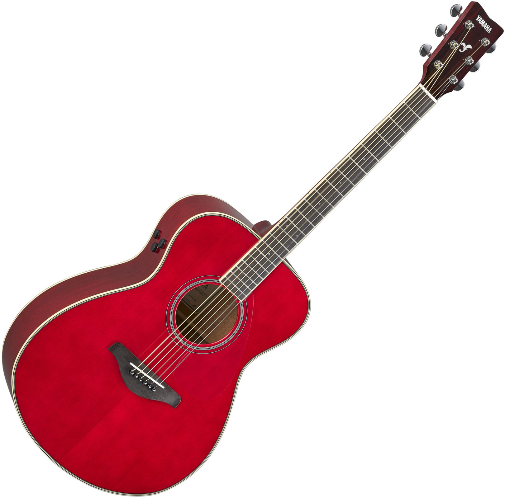 YAMAHA GUITARE TRANSACOUSTIC FS-TA RUBY RED