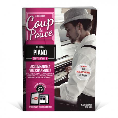 COUP DE POUCE METHODE PIANO DEBUTANT VOL 1
