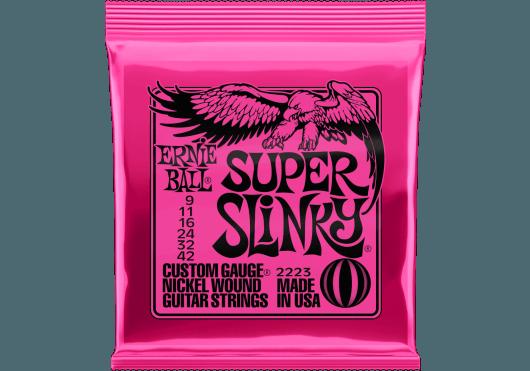 ERNIE BALL SUPER SLINKY JEU ELECTRIQUE 9/42