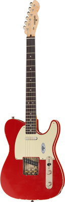 MAYBACH GUITARE TELECASTER T61 CUSTOM RED AGED + ETUI