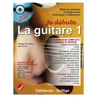 Partition Guitare Hit Diffusion - Je débute la guitare + CD et DVD
