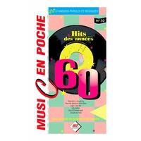 Partition Chansons Hit Diffusion - Music en poche Les années 60