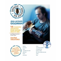 Partition Guitare Hit Diffusion - Voyage en guitare J-J Goldman