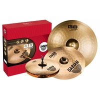 "PACK SABIAN B8 PRO - 1 Hi-Hat Regular 14"" - 1 Thin Crash 16"" - 1 Ride 20"" -"