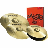 "PACK PAISTE 101 BRASS UNIVERSAL SET (14""/16""/20"")"