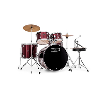 "Batterie acoustique - Fusion 20""  - NEW TORNADO V2 FUSION 20"" - BORDEAUX WINE RED"