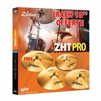 PACK ZILDJIAN ZHT SET PRO 4 + 1 CRASH 18 OFFERTE