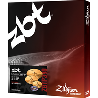 PACK ZILDJIAN ZBT SET PRO 4 + CRASH 18 offert -