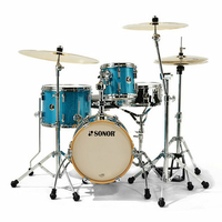 BATTERIE SONOR MARTINI SE BEBOP14 TURQUOISE GALAXY SPARKLE
