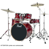 "PEARL EXPORT LACQUER Rock 22"" 5 fûts - Natural Cherry"