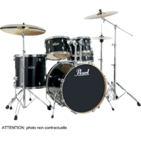 "PEARL EXPORT LACQUER Rock 22"" 5 fûts - Black Smoke"