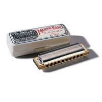 HARMONICA HOHNER MARINE BAND 10 TROUS C/DO