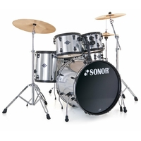 "SONOR SMART FORCE FUSION 20"" BRUSHED CHROME"