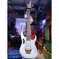 Ibanez guitare électrique 7 cordes jem 7v7 wh