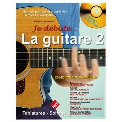 Partition Guitare Hit Diffusion - Je débute la guitare vol 2