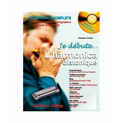 Partition HARMONICA Hit Diffusion - Je débute l'harmonica