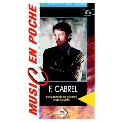 Partition Guitare Hit Diffusion - Music en poche Francis Cabrel