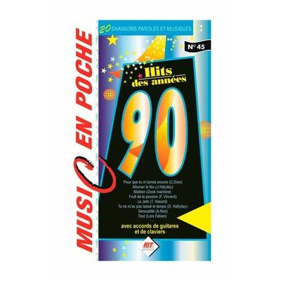 Partition Chansons Hit Diffusion - Music en poche Les années 90