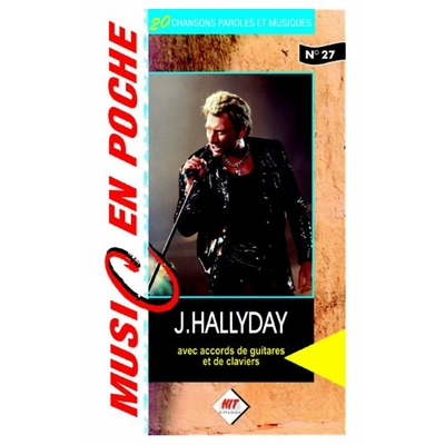 Partition chansons Hit Diffusion - Music en poche Johnny Hallyday