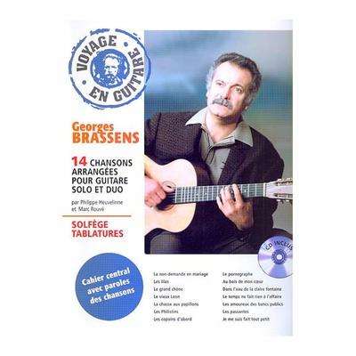 Partition Guitare Hit Diffusion - Voyage en guitare Georges Brassens