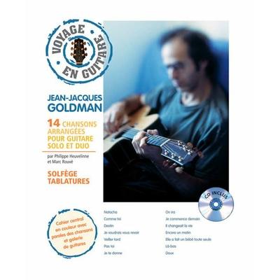 Partition Guitare Hit Diffusion - Voyage en guitare J-J Goldman