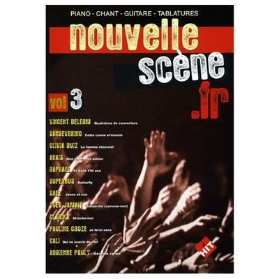 Partition Hit Diffusion - Nouvelle Scène.fr vol 3