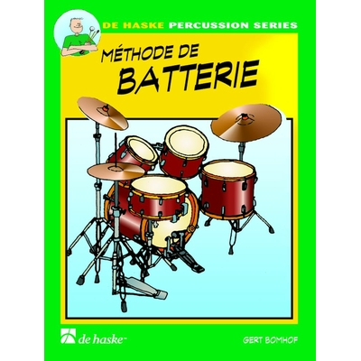 BOMHOF GERT - METHODE DE BATTERIE VOL.1 + CD