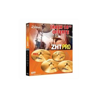 PACK ZILDJIAN ZHT SET PRO 4 + 1 CRASH 18 OFFERTE