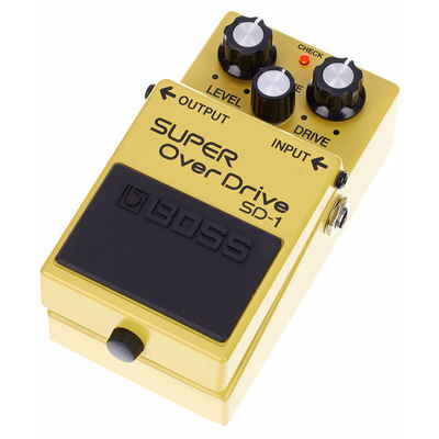 BOSS PEDALE SD1 SUPER OVERDRIVE