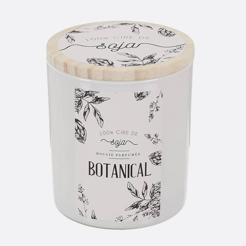 Botanical bougie-parfumee-cire-de-soja-top-bois-h97cm