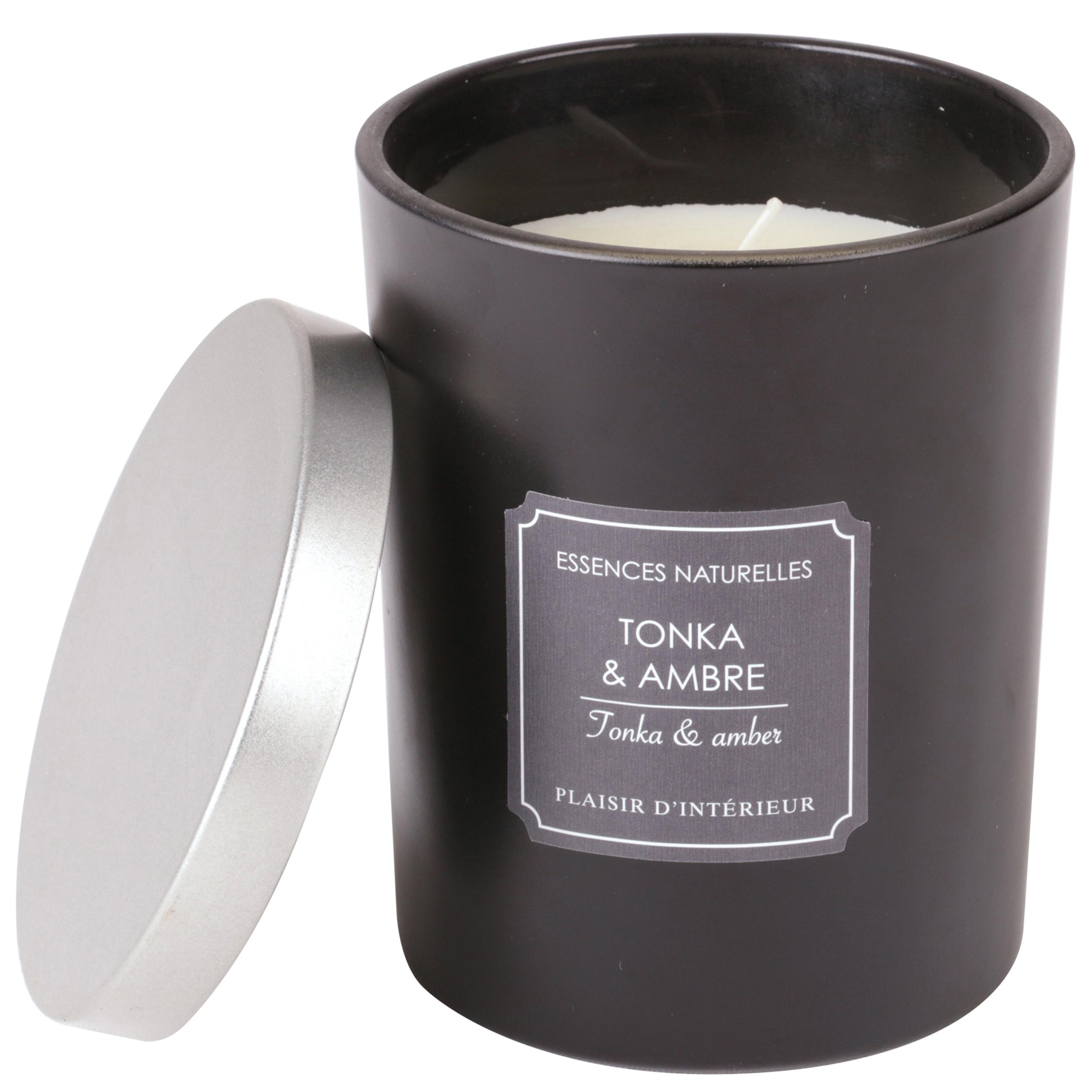 BOUGIE PARFUMEE TONKA & AMBRE (L)
