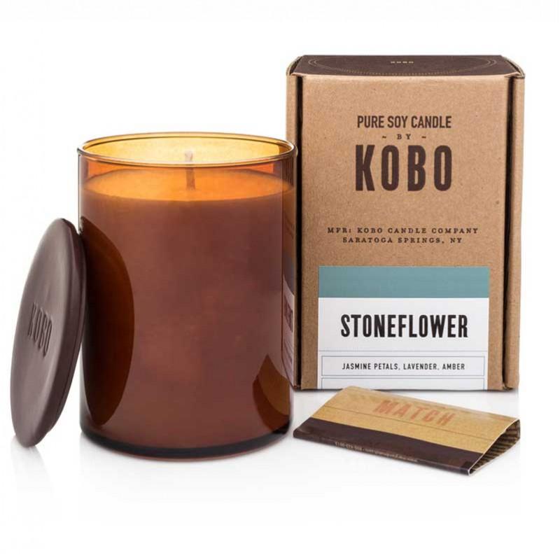 Bougie KOBO STONEFLOWER