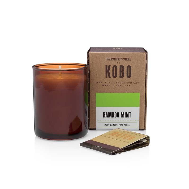 Bougie KOBO BAMBOO MINT - VOTIVE