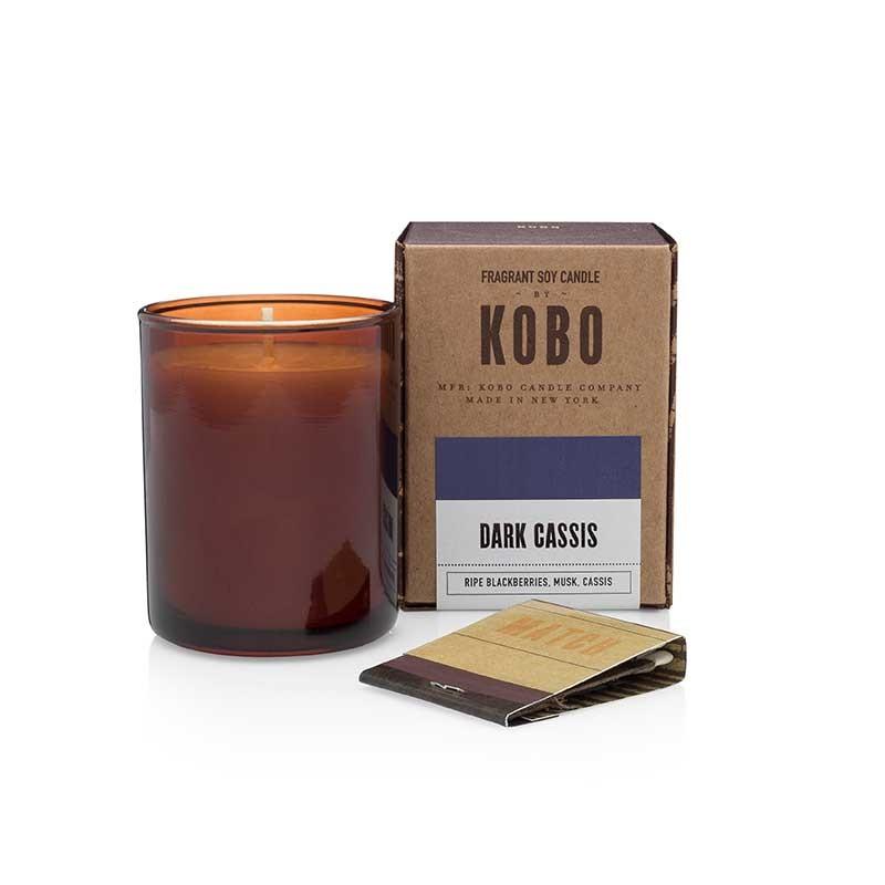 Bougie KOBO DARK CASSIS - VOTIVE
