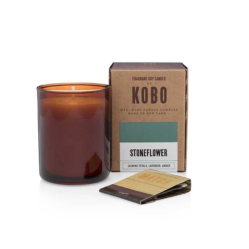 Bougie KOBO STONEFLOWER - VOTIVE