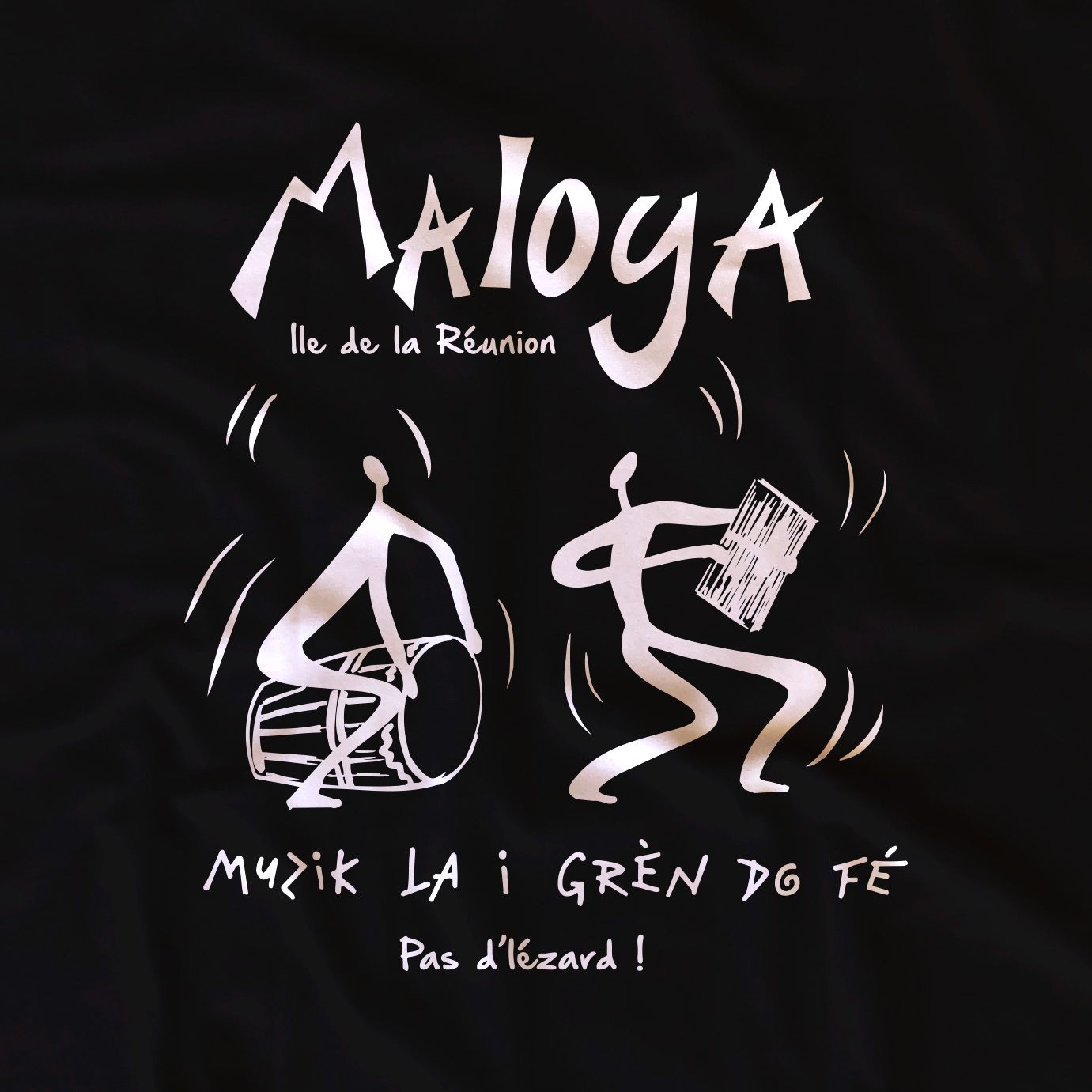 T-shirt adulte Maloya