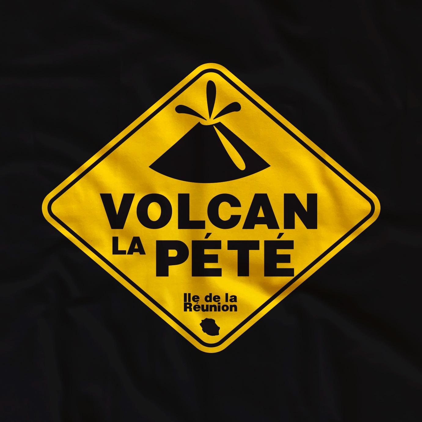 T-shirt adulte Volcan la pété