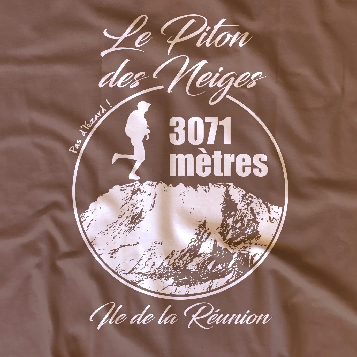 T-shirt adulte Piton des Neiges