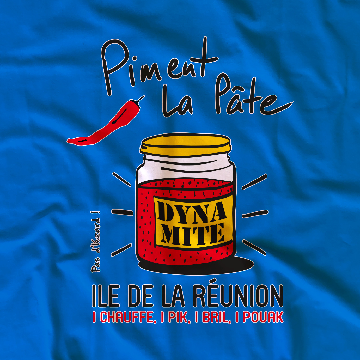 T-shirt adulte Piment la pâte