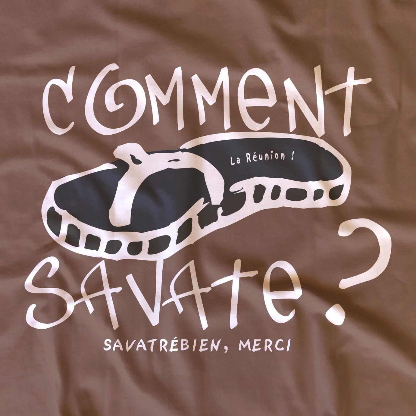 T-shirt adulte Comment Savate ?