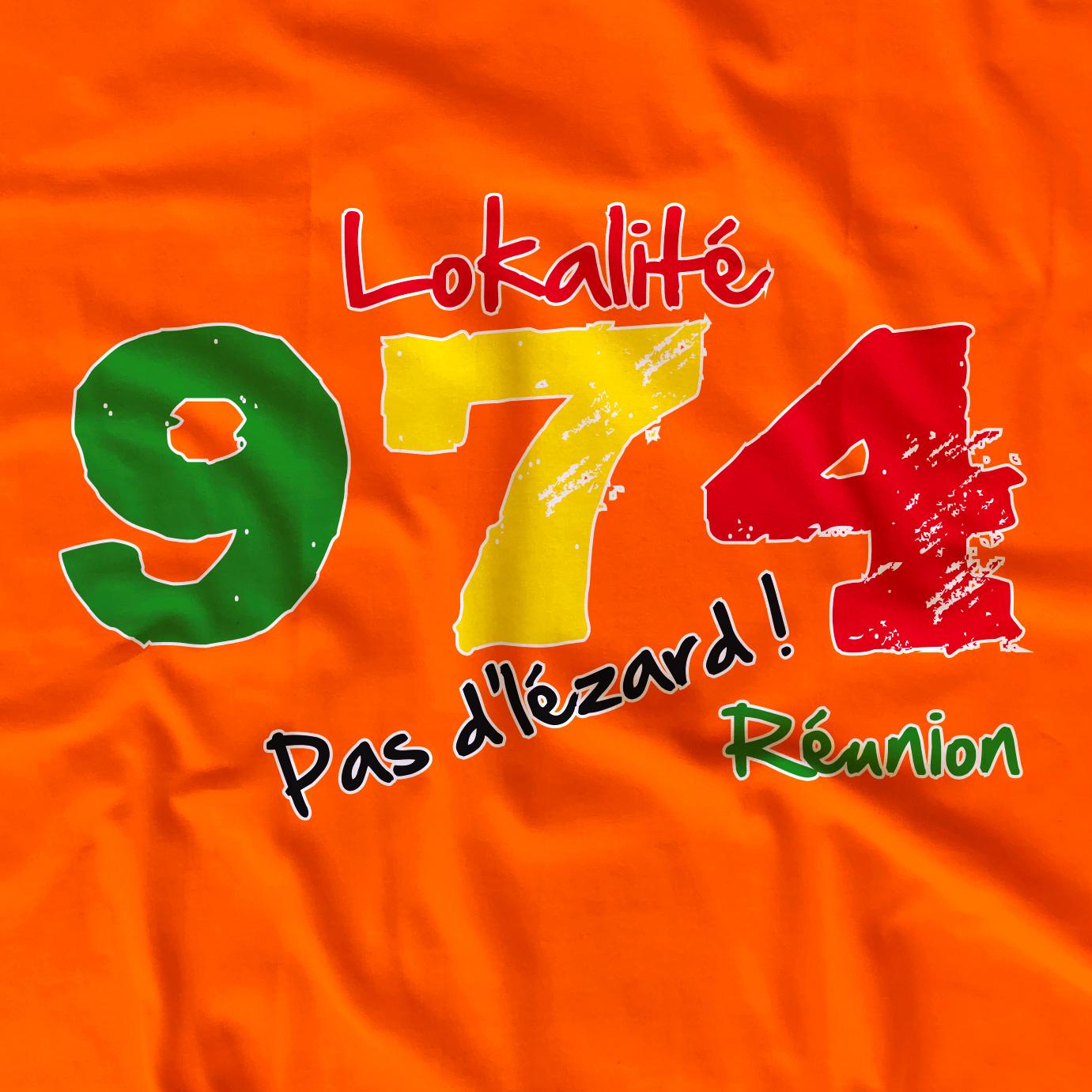 T-shirt enfant 974 Lokalité