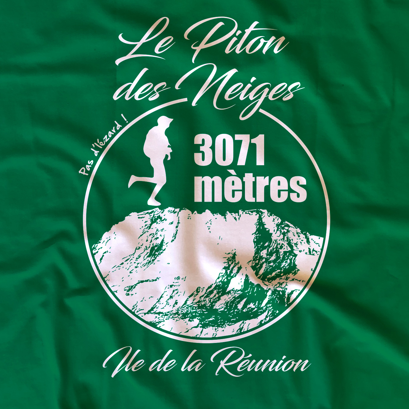 T-shirt adulte Piton des Neiges