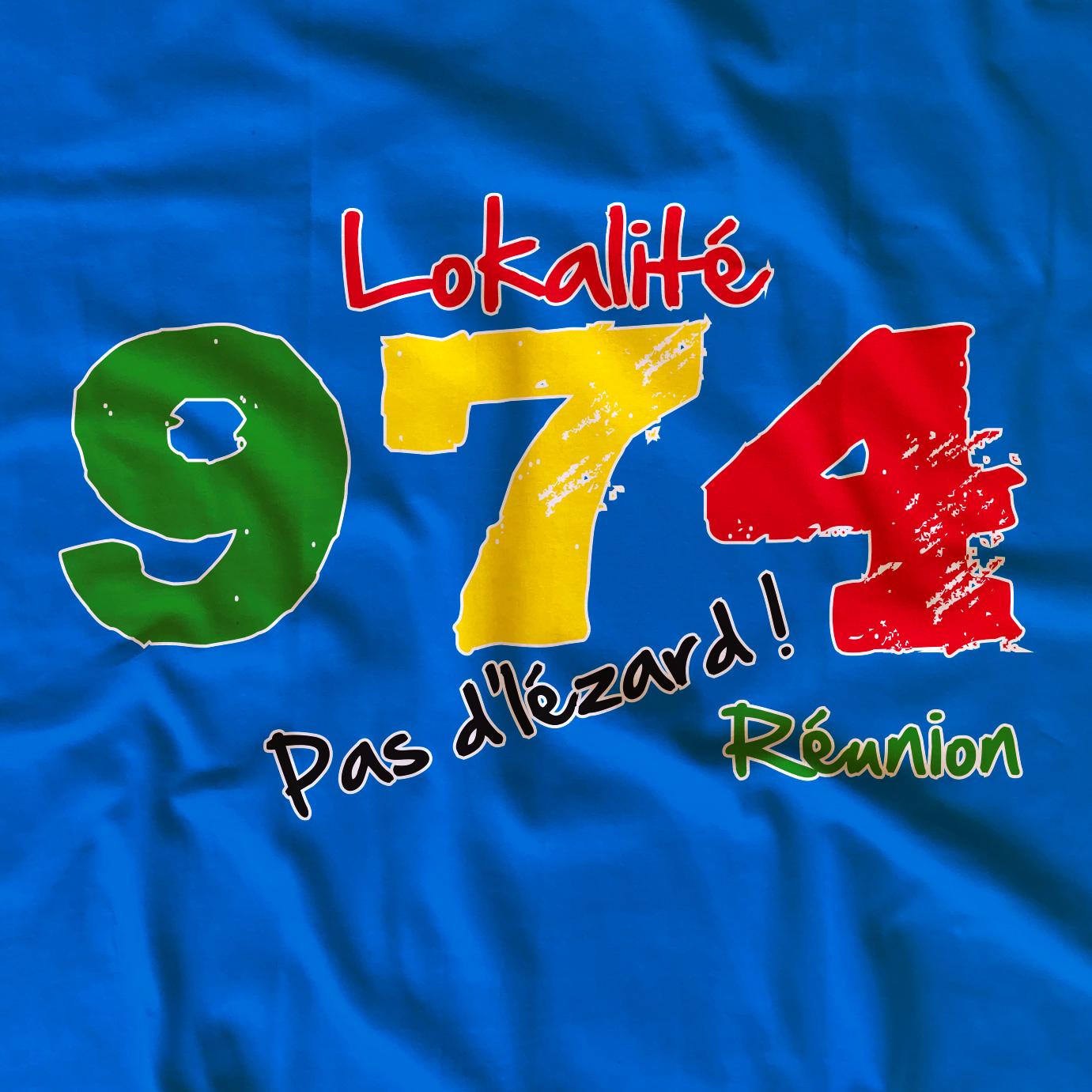 T-shirt adulte 974 Lokalité